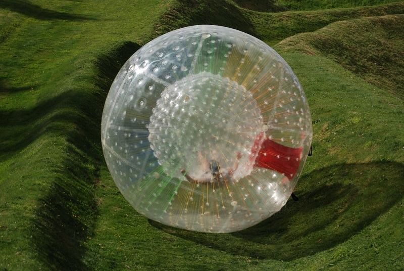 Zorbing – With Zorbing