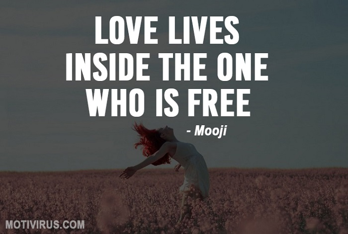 Best Mooji quotes on love