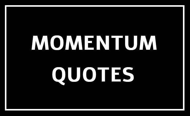 Momentum Quotes