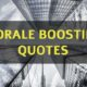 Morale Boosting Quotes