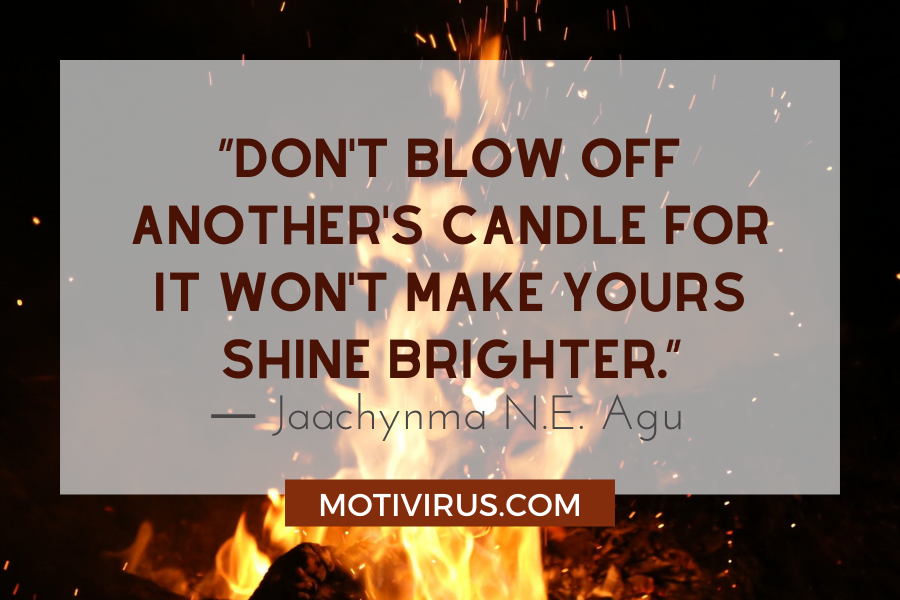 motivational leadership quotes with fire background