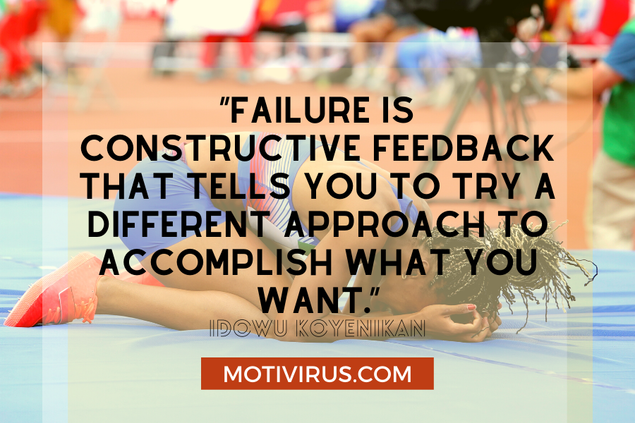 quote graphics with athlete in background
