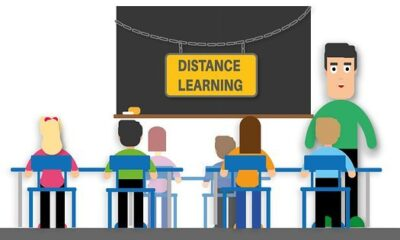 Distance Learning, Teacher, Students