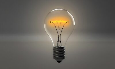 A light bulb with a flame Description automatically generated with low confidence